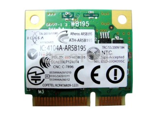 Card Wifi Bluetooth 3.0 Qualcomm Atheros AR5B195 AR9002WB-1NGCD
