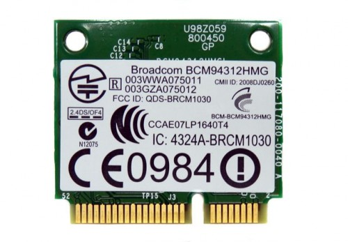 Card Wifi Bluetooth 4.0 Atheros AR5B22 Mini PCI-e