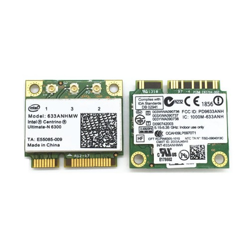 Card Wifi Laptop Intel Centrino Ultimate-N 6300
