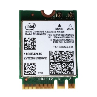 Card Wifi Laptop Lenovo L440 T431 Intel Advanced-N 6235ANNGW