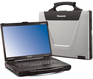 Toughbook CF-52 P8600 Ram 4GB HDD 500G VGA Rời