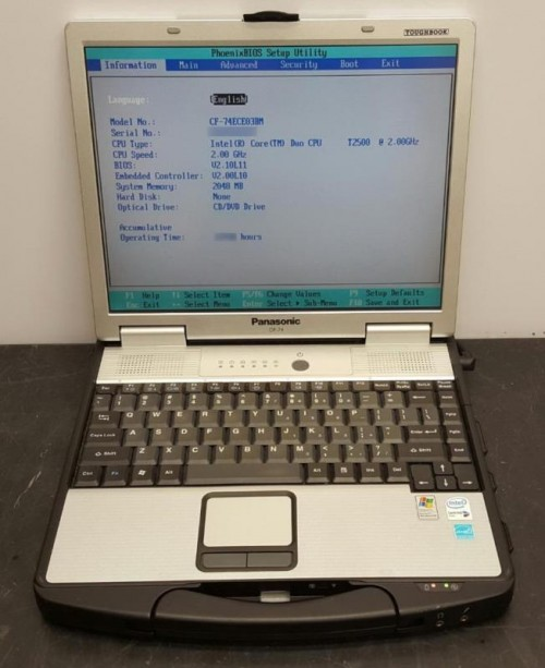Toughbook CF-74 T2400|2G|40G|13in