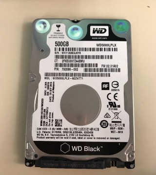 Ổ Cứng Laptop Western Digital Black 500G 2018 800018