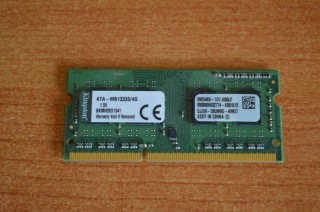 Ram Laptop Kingston 4G Bus 1333 Giá Rẻ