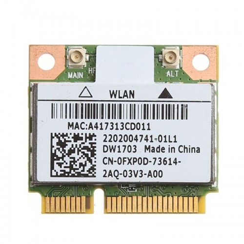 Wireless Bluetooth V4.0 Mini PCI-Express Card For Atheros AR5B225 DELL DW1703